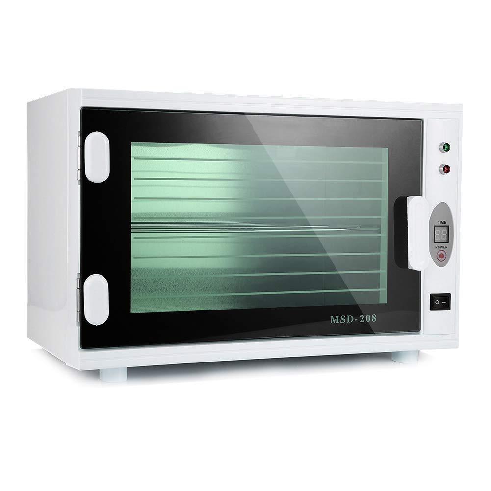 Sterilisationsausr/üstung f/ür Handt/ücher und hei/ße Scheren 16L Desinfektionsbox mit gro/ßer Kapazit/ät Blanche yuyte 2-in-1-UV-Sterilisationsschrank
