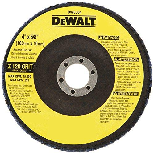DEWALT DW8304 4 Inch Zirconia Grinder