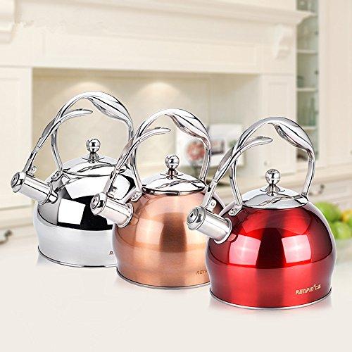 kitchen aid tea kettle red - 6