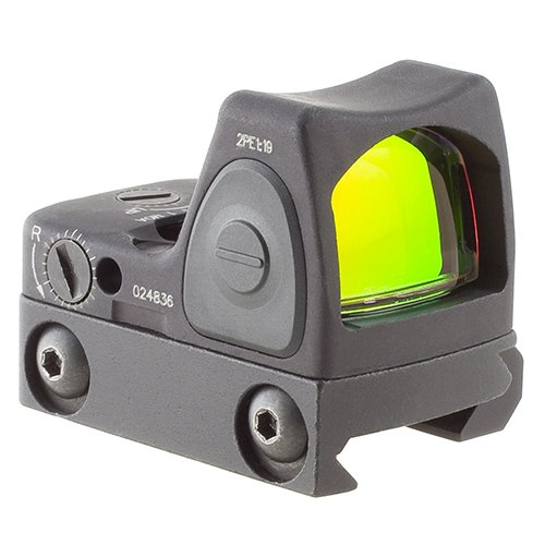 Trijicon RM06-C-700673 RMR Type 2 3.25 MOA Adjustable LED Red Dot Sight with RM33 Low Picatinny Rail Mount
