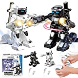 Dulcii RC Battle Boxing Robot/Toys, Remote Control 2.4G Humanoid Fighting Robot, Two Control