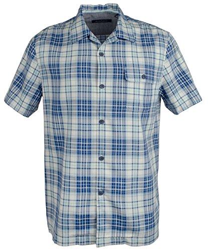 Tommy Bahama Men's Tuntura Plaid Silk Camp Short Sleeve Shirt-GS-S (Shirt Plaid Silk)
