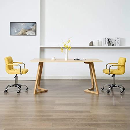 LucaSng Set di 2 Sedie da Pranzo Girevoli Ergonomico Moderno