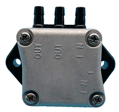 Tuzliufi Replace Fuel Pump Assy Mercury Yamaha 4 Stroke 25HP 30HP 35HP 40HP 45HP 50HP 55HP 60HP Outboard Motor 1997-2006 And Later Replace 62Y-24410-02 826398T3 62Y-24410-04-00 62Y-24410-03 New Z104