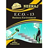 ECO13-Business Environment (IGNOU help book for ECO-13 in English Medium)