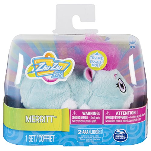 Zhu Zhu Pets - Merritt, Furry  Hamster Toy with Sound and Movement JungleDealsBlog.com