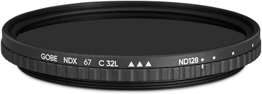 Gobe Variable ND8-128 MRC 32-Layer 72mm ND Filter