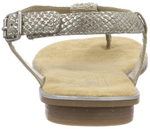 Rieker Damen 64270 Women Flip Flop Zehentrenner, (Fango-Silver beige   64),  40 EU  Amazon.de  Schuhe   Handtaschen 900e465ff9