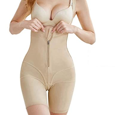 6deb1a547 Amazon.com  DOCOLA Slimming Full Body Shaper Control Panties Bodysuit  Shapewear Postpartum Corset Butt Lifter Underwear Plus Size  Clothing