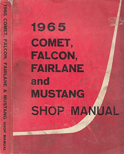 Electric Co Axle - 1965 Comet, Falcon, Fairlane and Mustang: Shop Manual
