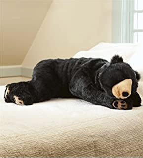 Black Bear Animal Giant Plush Stuffed Body Hug Pillow For Kids Teens  Adults, Soft Dense