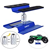 Hobbypark Aluminum Alloy RC Car Work Stand Repair Workstation 360 Degree Rotation Lift Or Lower for 1/8 1/10 1/12 Scale Cars Trucks Buggies