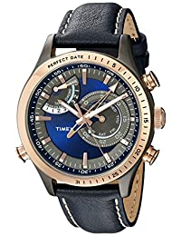 Timex Men's TW2P72700DH Intelligent Quartz Collection Analog Display Quartz Blue Watch