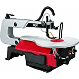 """SKIL 3335-07 16"""" 1.2 Amp Scroll Saw with Light, Red"""