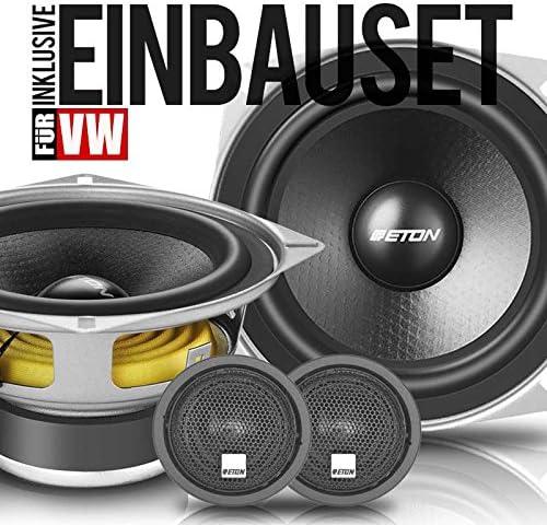Eton 130mm Kfz Kompo Lautsprecher Heck Auto Boxen Zubehör Für Vw T4 100 Watt Audio Hifi