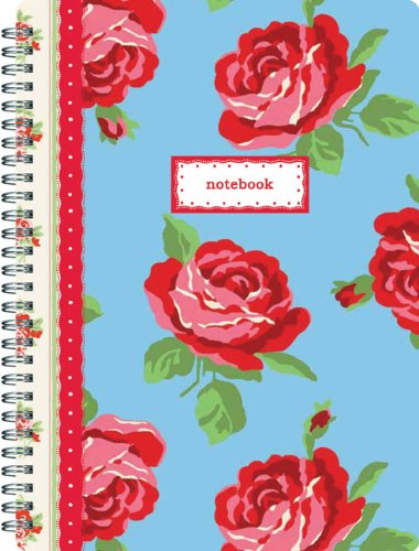 Cath Kidston Notebook Ottoman Roses