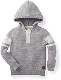 Boys' Hooded Pull Over Sweater Made with Organic Cotton