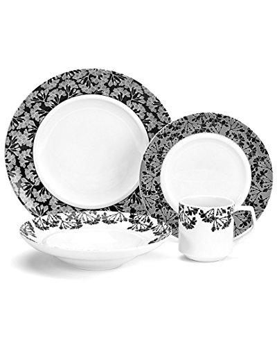 Cuisinart CDP01-S4JO Juine Collection 16-Piece Porcelain Dinnerware Set