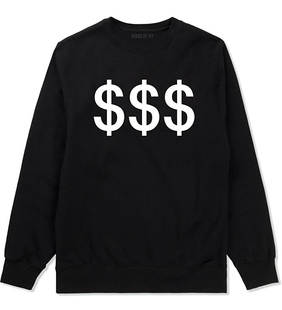 5440fb6d03eb Amazon.com  Kings Of NY Money Signs Cash USA Boss Girls Boys Kids Crewneck  Sweatshirt  Clothing