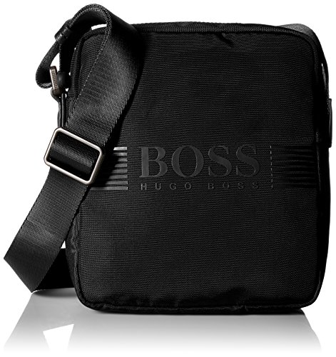BOSS Green Men's Pixel NS Zip, Black (Bags Boss Men)