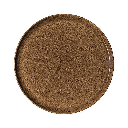 (Denby Studio Craft Chestnut Round Platter, Ceramic, Brown, 31 x 2 x 31 cm)