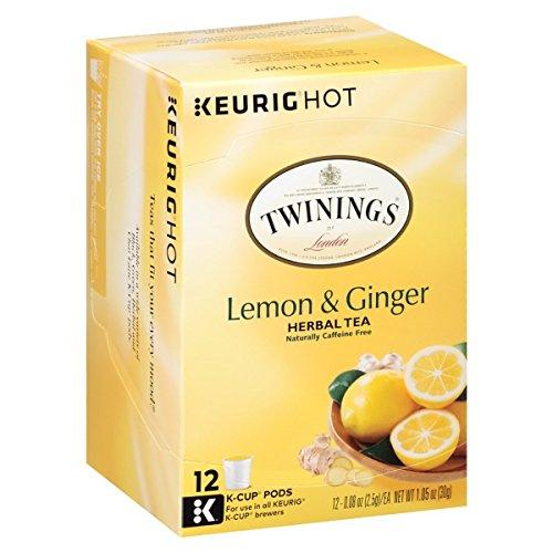 Twining's Lemon & Ginger Tea K-Cups - 12 ()