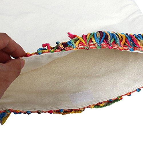 Del Decoración Bolsa Portátil Lona De Soporte Libros Mensaje Borla Viajes Blanco De Para Hombro map sourcing qI5RwOw