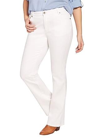 Women's Plus Size Bootcut Stretch Jean at Amazon Women's Clothing ...