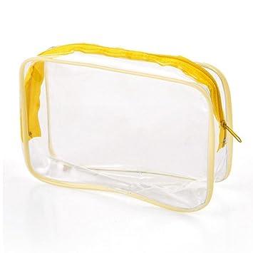 1 bolsa de maquillaje transparente para cosméticos, bolsas ...