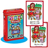 Pronoun Parade Fun Deck Cards - Super Duper Educational Learning Toy for Kids