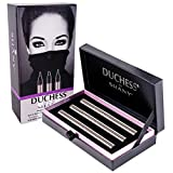 eye liner stilla - DUCHESS by SHANY - Set of 3 Black Waterproof Liquid Eyeliners with Paraben-free Formula and Aloe Vera - Precision Collection