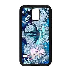 caso Ao No Exorcist U7L52T6NG funda Samsung Galaxy S5 funda 006S2C negro