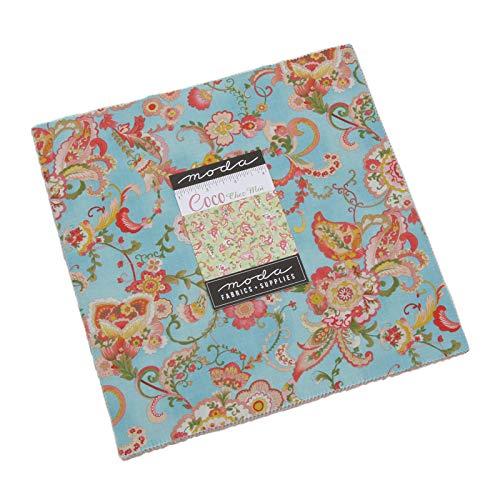 Chez Moi Coco Layer Cake 42 10-inch Squares Moda Fabrics 33390LC ()
