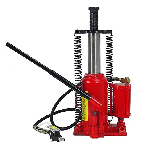 Manual Hydraulic Lift - 20 Ton Air Hydraulic Bottle Jack Manual Lifts Hoist
