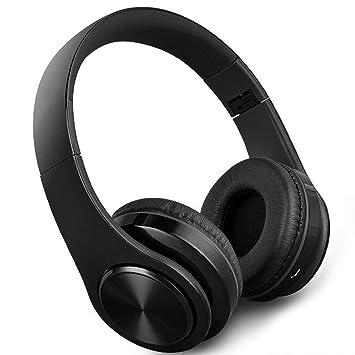 Zmsdt Auriculares Bluetooth Juegos Inalámbricos Auriculares para Teléfonos Móviles Subwoofer 22h Ordenador Auriculares para Teléfonos Móviles Plegables ...