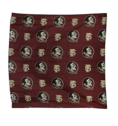 NCAA Florida State University FSU Seminoles Fabric Shower Curtain 72x72 ()