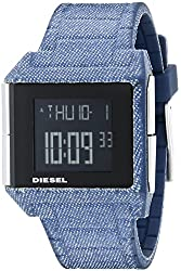 Diesel Men's DZ1713 Big Bet Digital Display Analog Quartz Blue Watch