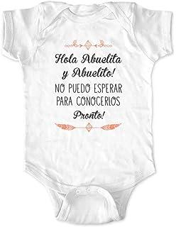 cute & funny Hola Abuelita y Abuelito! No puedo Esperar Para Conocerlos Pronto! -
