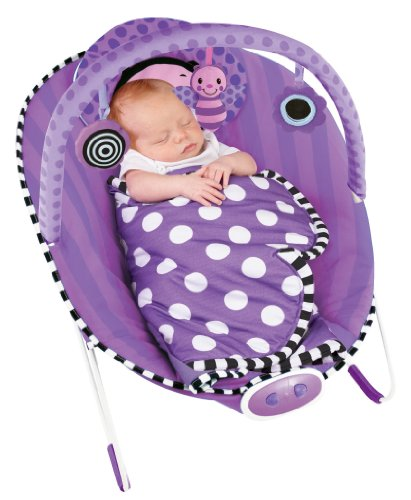 Sassy Cuddle Bug Bouncer, Violet Butterfly by Hamacher (Image #1)