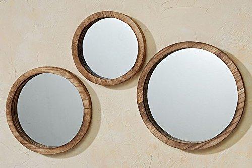 The Rustic Boho Chic Porthole Mirror Trio, Set of 3 - 10, -