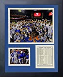 "Legends Never Die MLB Kansas City Royals 2015 World Series Champions Mound Framed Photo Collage, 11"" x 14"""