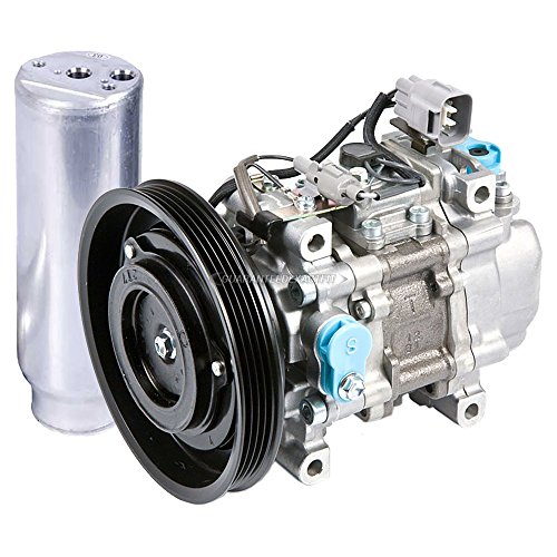 OEM AC Compressor w/A/C Drier For Toyota Paseo & Tercel - BuyAutoParts 60-87004R4 New (Compressor Ac Paseo Toyota)
