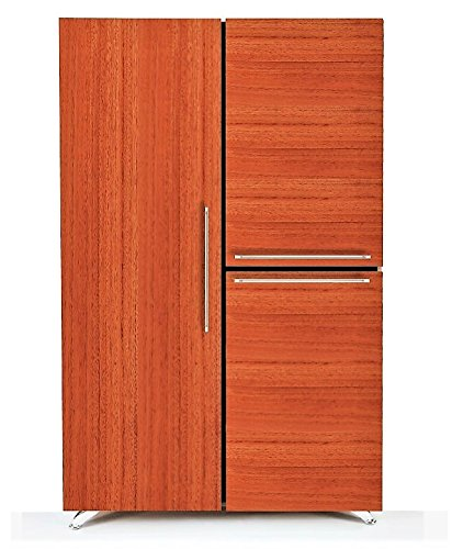 Modern by Diamante West Federal Armoire (African Mahogany) by Modern by Diamante