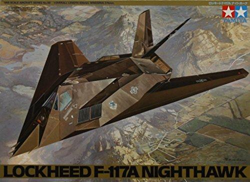 F-117A Nighthawk Plastic Aircraft Model Kit #61059 (F-117a Nighthawk)