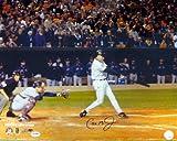 Cal Ripken, Jr. Baltimore Orioles Autographed PSA/DNA Authenticated 16x20 Photo Last At Bat - Signed Photos