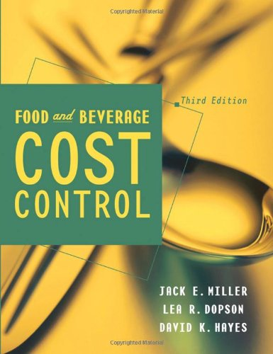 Food and Beverage Cost -