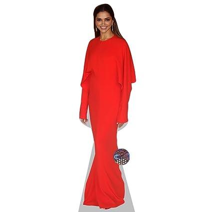 Amazon deepika padukone red dress life size cutout home deepika padukone red dress life size cutout voltagebd Images