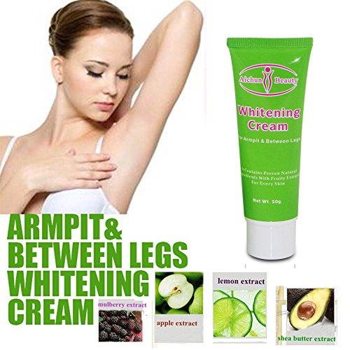 AICHUN BEAUTY 1pc/50g Whitening Cream Dilute melanin For Armpit Elbow Knee Lightening BIKINI-Underarm Inner Thigh