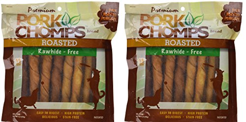 Scott Pet Products Pork Chomps Roasted Twistz Dog Treats Rawhide Free, Bundle of - Online China Stores Free Shipping