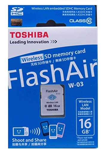 Toshiba Sd Fa Class 10 16gb Wireless Sdhc Card Buy Toshiba Sd Fa